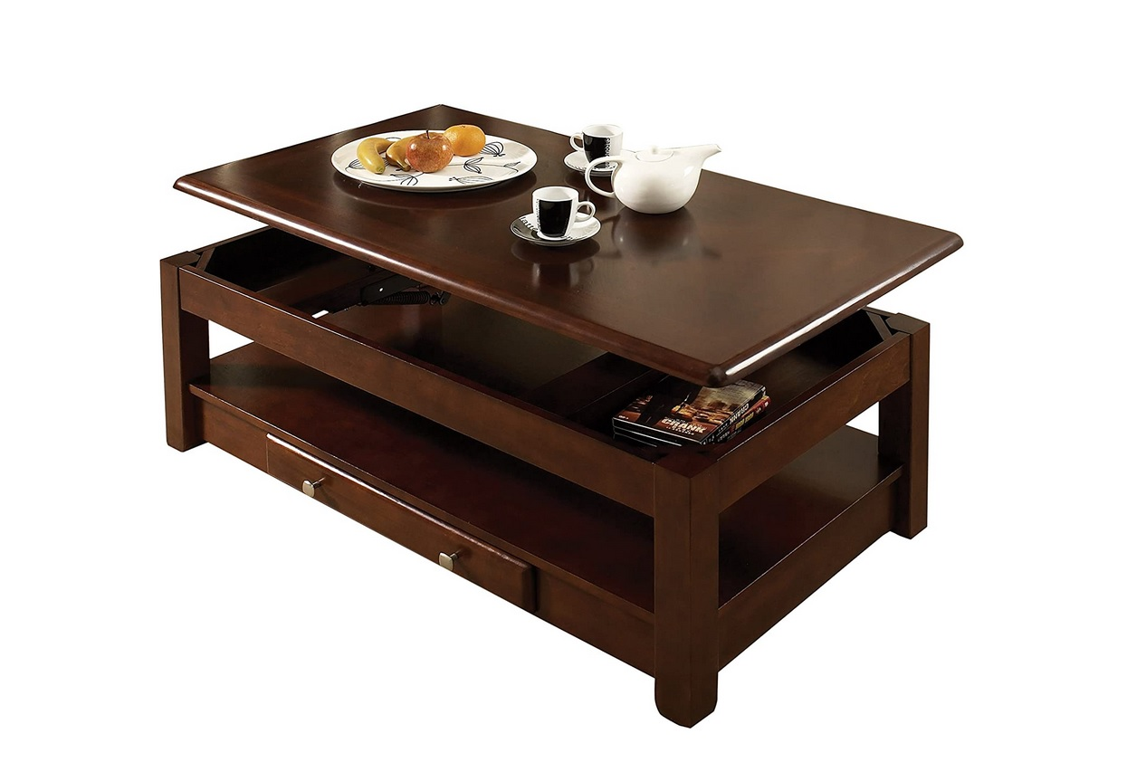Cherry Lift Top Coffee Tables