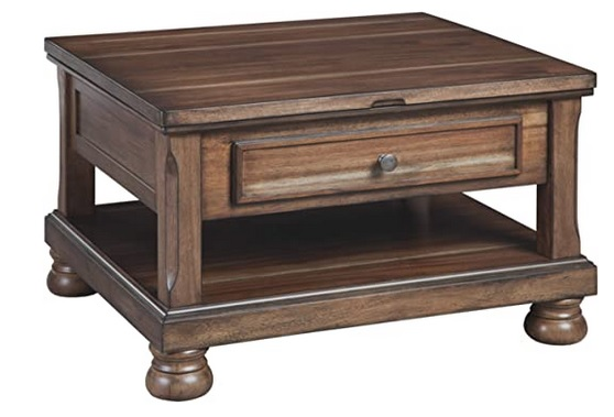 Square Lift Top Coffee Tables